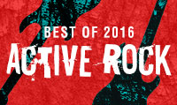 Running music mix entitled Best of 2016 Active Rock from Rock My Run