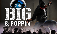 Running music mix entitled Big & Poppin' from Rock My Run