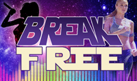 Running music mix entitled Break Free from Rock My Run