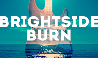 Running music mix entitled Brightside Burn from Rock My Run