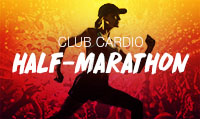 Running music mix entitled Club Cardio Half-Marathon from Rock My Run