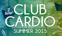 Running music mix entitled Club Cardio Summer 2015 from Rock My Run