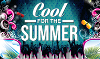 Running music mix entitled Cool For The Summer from Rock My Run