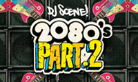 Running music mix entitled DJ Scene 2080s Part 2 from Rock My Run