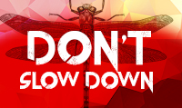 Running music mix entitled Don't Slow Down from Rock My Run