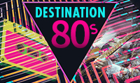 Running music mix entitled Destination 80s from Rock My Run