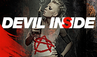 Running music mix entitled Devil Inside from Rock My Run