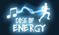 Running music mix entitled Dose of Energy from Rock My Run