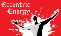 Running music mix entitled Eccentric Energy from Rock My Run