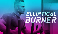 Running music mix entitled Elliptical Burner from Rock My Run