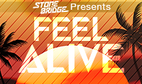 Running music mix entitled Feel Alive from Rock My Run