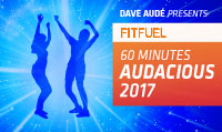 Running music mix entitled Fit Fuel Audacious 2017 from Rock My Run