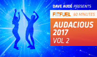 Running music mix entitled Fit Fuel Audacious 2017 Vol. 2 from Rock My Run