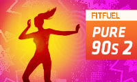 Running music mix entitled Fit Fuel Pure 90s 2 from Rock My Run