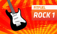 Running music mix entitled Fit Fuel Rock 1 from Rock My Run