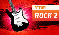 Running music mix entitled Fit Fuel Rock 2 from Rock My Run