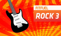 Running music mix entitled Fit Fuel Rock 3 from Rock My Run