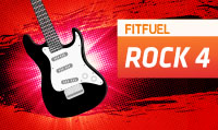 Running music mix entitled Fit Fuel Rock 4 from Rock My Run