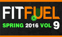 Running music mix entitled Fit Fuel Spring 2016 Vol. 9 from Rock My Run