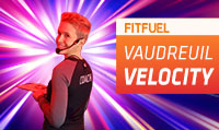 Running music mix entitled Fit Fuel Vaudreuil Velocity from Rock My Run