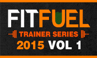 Running music mix entitled Fit Fuel Trainer Series 2015  Vol. 1 from Rock My Run