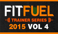 Running music mix entitled Fit Fuel Trainer Series 2015 Vol. 4 from Rock My Run