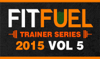 Running music mix entitled Fit Fuel Trainer Series 2015 Vol. 5 from Rock My Run