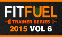 Running music mix entitled Fit Fuel Trainer Series 2015 Vol. 6 from Rock My Run