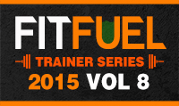 Running music mix entitled Fit Fuel Trainer Series 2015 Vol. 8 from Rock My Run