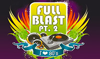 Running music mix entitled Full Blast Pt. 2 from Rock My Run
