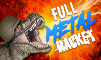 Running music mix entitled Full Metal Racket from Rock My Run