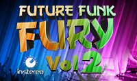 Running music mix entitled Future Funk Fury Vol. 2 from Rock My Run