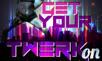 Running music mix entitled Get Your Twerk On from Rock My Run