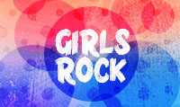 Running music mix entitled Girls Rock from Rock My Run