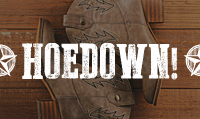 Running music mix entitled Hoedown! from Rock My Run