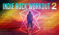 Running music mix entitled Indie Rock Workout 2 from Rock My Run