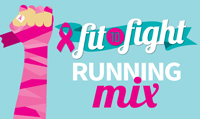 Running music mix entitled Fit To Fight  from Rock My Run