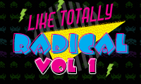 Running music mix entitled Like Totally Radical Vol. 1 from Rock My Run