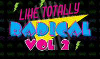 Running music mix entitled Like Totally Radical Vol. 2 from Rock My Run