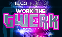 Running music mix entitled Work The Twerk from Rock My Run