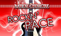 Running music mix entitled Rockin Pace from Rock My Run
