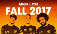Running music mix entitled Major Lazer Fall 2017 from Rock My Run