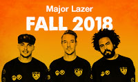 Running music mix entitled Major Lazer Fall 2018 from Rock My Run