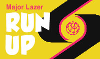 Running music mix entitled Major Lazer Run UP from Rock My Run