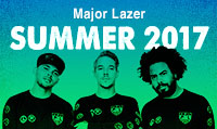 Running music mix entitled Major Lazer Summer 2017 from Rock My Run