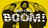 Running music mix entitled Major Lazer BOOM! from Rock My Run