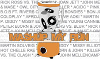 Running music mix entitled Mashup My Run from Rock My Run