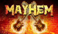 Running music mix entitled Mayhem from Rock My Run