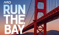 Running music mix entitled Run The Bay from Rock My Run