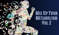 Running music mix entitled Mix Up Your Metabolism Vol. 2 from Rock My Run